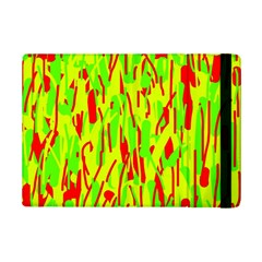 Green And Red Pattern Ipad Mini 2 Flip Cases