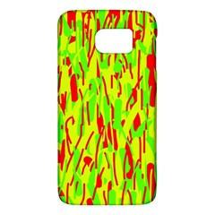 Green and red pattern Galaxy S6