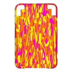 Pink and yellow pattern Kindle 3 Keyboard 3G