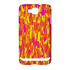 Pink and yellow pattern Samsung Ativ S i8750 Hardshell Case