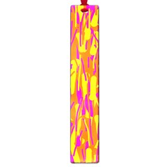 Pink and yellow pattern Large Book Marks