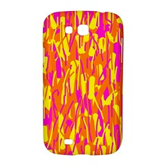 Pink and yellow pattern Samsung Galaxy Grand GT-I9128 Hardshell Case