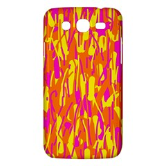 Pink and yellow pattern Samsung Galaxy Mega 5.8 I9152 Hardshell Case