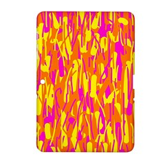 Pink and yellow pattern Samsung Galaxy Tab 2 (10.1 ) P5100 Hardshell Case