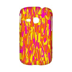 Pink and yellow pattern Samsung Galaxy S6310 Hardshell Case
