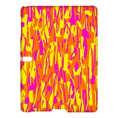 Pink and yellow pattern Samsung Galaxy Tab S (10.5 ) Hardshell Case