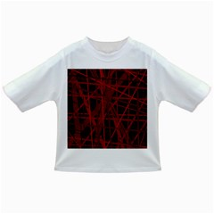 Black and red pattern Infant/Toddler T-Shirts