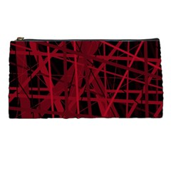 Black and red pattern Pencil Cases