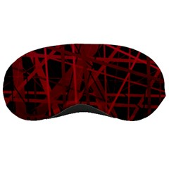 Black and red pattern Sleeping Masks