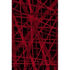 Black and red pattern 5.5  x 8.5  Notebooks