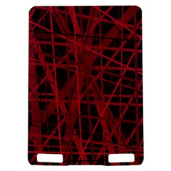 Black and red pattern Kindle Touch 3G