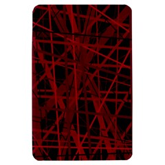 Black and red pattern Kindle Fire (1st Gen) Hardshell Case