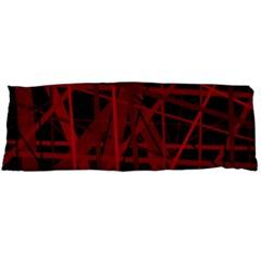 Black and red pattern Body Pillow Case (Dakimakura)