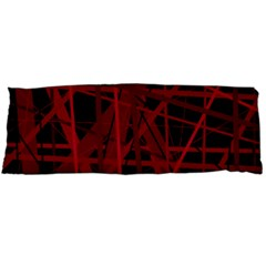 Black and red pattern Body Pillow Case Dakimakura (Two Sides)