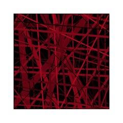 Black and red pattern Acrylic Tangram Puzzle (6  x 6 )