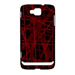 Black and red pattern Samsung Ativ S i8750 Hardshell Case
