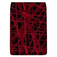 Black and red pattern Flap Covers (S)