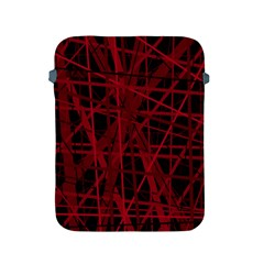 Black and red pattern Apple iPad 2/3/4 Protective Soft Cases