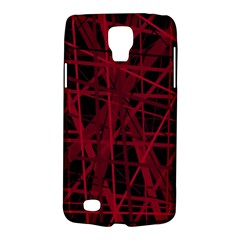 Black and red pattern Galaxy S4 Active