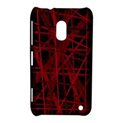Black and red pattern Nokia Lumia 620