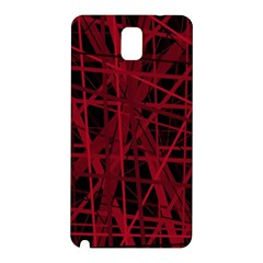 Black and red pattern Samsung Galaxy Note 3 N9005 Hardshell Back Case