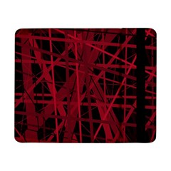 Black and red pattern Samsung Galaxy Tab Pro 8.4  Flip Case
