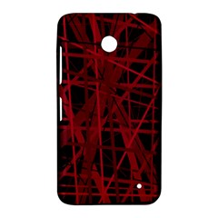 Black and red pattern Nokia Lumia 630