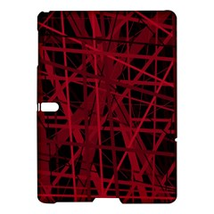 Black and red pattern Samsung Galaxy Tab S (10.5 ) Hardshell Case