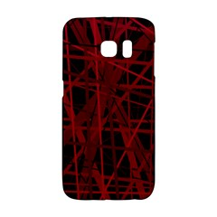 Black and red pattern Galaxy S6 Edge