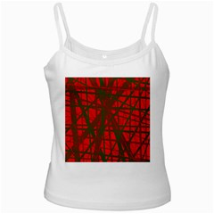 Red pattern Ladies Camisoles