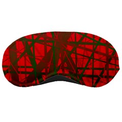Red pattern Sleeping Masks