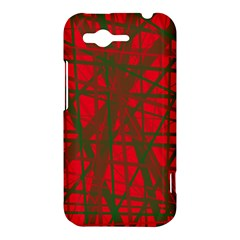 Red pattern HTC Rhyme