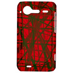 Red pattern HTC Incredible S Hardshell Case
