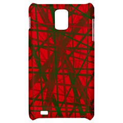 Red pattern Samsung Infuse 4G Hardshell Case