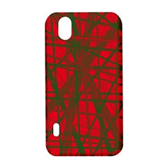 Red pattern LG Optimus P970