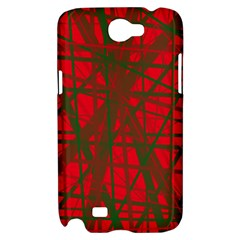 Red pattern Samsung Galaxy Note 2 Hardshell Case