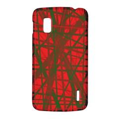 Red pattern LG Nexus 4