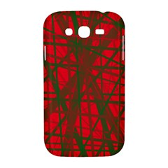 Red pattern Samsung Galaxy Grand DUOS I9082 Hardshell Case