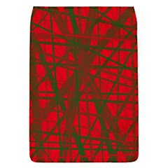 Red pattern Flap Covers (L)