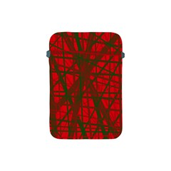 Red pattern Apple iPad Mini Protective Soft Cases