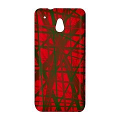 Red pattern HTC One Mini (601e) M4 Hardshell Case