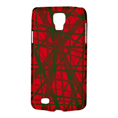 Red pattern Galaxy S4 Active