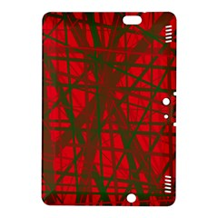 Red pattern Kindle Fire HDX 8.9  Hardshell Case