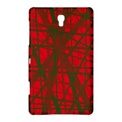 Red pattern Samsung Galaxy Tab S (8.4 ) Hardshell Case