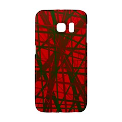 Red pattern Galaxy S6 Edge