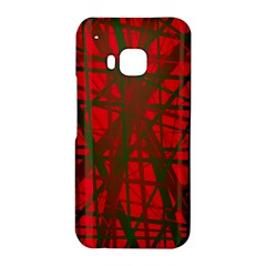 Red pattern HTC One M9 Hardshell Case