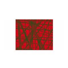 Red pattern Satin Wrap