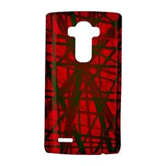 Red pattern LG G4 Hardshell Case
