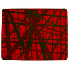 Red pattern Jigsaw Puzzle Photo Stand (Rectangular)