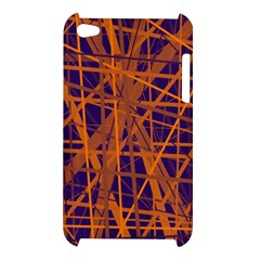 Blue and orange pattern Apple iPod Touch 4